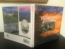 Colorado 14'ers Mountaineering 14,000 Feet Mint Hb/Dj Signed x2 Borneman Caudle