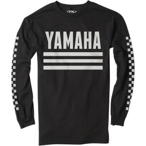 Factory Effex Yamaha Racer T-Shirt (Black) Choose Size