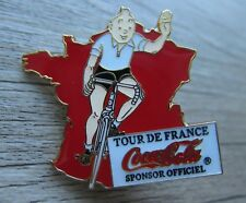 Tintin / Tim und Struppi Pin / Pins: Tour de France / Coca Cola -  Kult