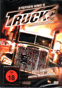 Trucks , out of control , digital remastered , 100% uncut , new , Stephen King