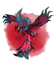 Ultra Pokemon Sun and Moon Year of the Legendary 2018 Yveltal 6IV-EV Trained
