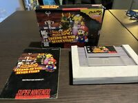 Super Mario RPG: Legend of the Seven Stars (SNES) Complete CIB*cleaned/untested*