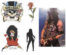 Slash Guns n Roses Fake Tattoos