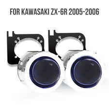 LED Devil Angle Eyes  HID Projector Kit  For Kawasaki ZX6R 2005-2006 55w White