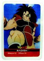 Dragonball Z Lamincards Edibas N. 135 Radish Figurine Collezione Carte gioco