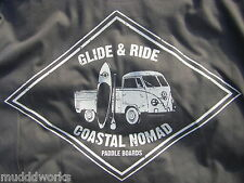 Coastal Nomad Glide and Ride T-shirt Stand up Paddle SUP surf ocean sports
