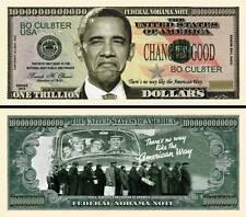 No BARACK OBAMA 2012 BILLET COMMEMORATIF DOLLAR US! Collection Politique US