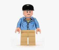 Lego Indiana Jones Jock Minifig - Raiders Minifigure new
