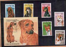 Stamps Republique du Benin Dogs 1997