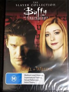 Buffy The Vampire Slayer The Slayer Collection Angel + Willow DVD Brand New
