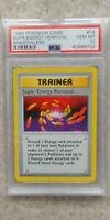 Pokemon Super Energy Removal 79/102 Shadowless Base Set PSA 10 1999 Pokemon TCG