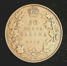 1914 Canadian 50 Cent Coin (C3189)