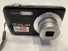 CASIO EXILIM EX-Z33 10.1MP 3X ZOOM DIGITAL CAMERA BLACK ~ YOUTUBE CAPTURE MODE