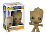 Vinyl Bobblehead Guardians Galaxy Baby Smiling Groot Figure a F01