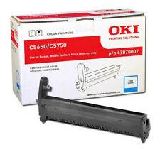 Genuine OKI C5650 Image Drum Cyan 43870007 C5750