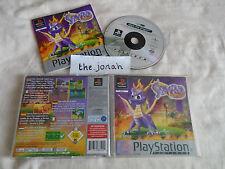 Spyro The Dragon PS1 (COMPLETE) platform Sony Playstation classic platinum