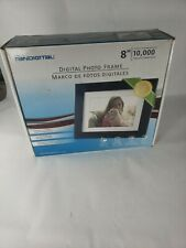 "Pandigital 8"" Digital Photo Frame PAN8004W01C open box digital photo frame"