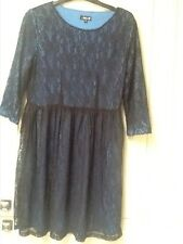 ladies lace skater dress by DOROTHY PERKINS Size 12