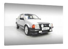Ford Escort RS 1600i - 30x20 Inch Canvas Art - Framed Picture Poster Print