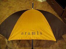 VTG Aramis Distinguished Gentleman Faux Leather Handle UMBRELLA w/ Cover