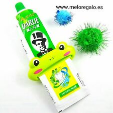 Exprimidor tubo pasta de diente y crema con forma de animales para niños