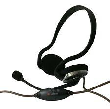 Labtec Stereo Headphones 442 Over-Ear, 3,5mm, Black, Blister