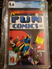Loot Crate Edition Reprint More Fun Comics 73 Cgc 9.6 1st Green Arrow & Aquaman