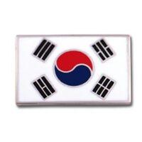 Korean Flag Martial Arts Pin
