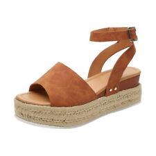 Women's Summer Beach Sandals Platform Leopard Print Espadrilles Ladies Shoes UK