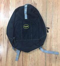 Nike Black Backpack School Bag Back Pack Yello Gray Swoosh Sports Lightweight