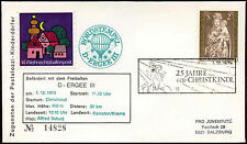Austria 1974 Christmas Christkindl Balloon Post Cover #C18351