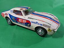 Taiyo Japan - Corvette GT - Hot Rod Snake - Tinpalte/Blech - 25cm