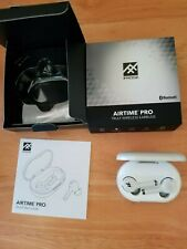 IFROGZ AIRTIME PRO TRULY WIRELESS EARBUDS PEARL WHITE/CASE  BLUETOOTH NEW