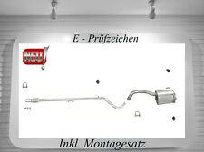 Auspuffanlage Fiat 500 / 500 C 1.2  Auspuff mit Montagesatz