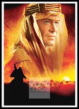 Lawrence Of Arabia    Poster Greatest Movies Classic & Vintage Films