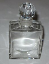 """Antique/Vintage Crystal Baccarat Glass Mini Perfume & Stopper - 3"""" Height"""