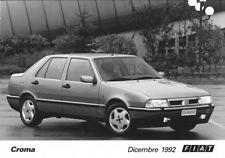 PHOTO PRESS ORIGINALE FIAT CROMA - Dicembre  1992 (2)
