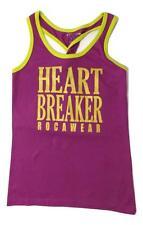ROCAWEAR SIZE 16 NEW  HEART BREAKER YOUTH GIRLS SHINEY TANK TOP FASHION SHIRT