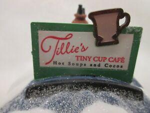"""Dept 56 North Pole Elfland """"Tillie's Tiny Cup Cafe"""" #56 56401"""