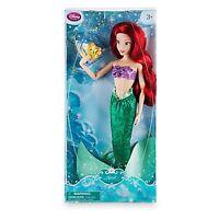 """Disney Puppe-Doll """"ARIELLE"""" die Meerjungfrau,Fabius NEU"""