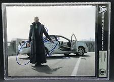 "LAURENCE FISHBURNE ""MORPHEUS"" THE MATRIX SIGNED AUTOGRAPH 8X10 PHOTO BECKETT BAS"