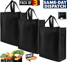 Ounce Reusable Grocery Shopping Bags Extremely Durable Multi Use ( 3 Pack )