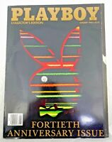 Playboy Magazine Collector's Edition 40th Fortieth Anniversary Issue Jan 1994 !