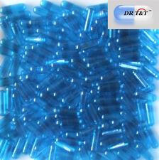 Dr T&t 100 cápsulas de gelatina gelatina transparente azul Talla 2 Talla 2 productos de la UE