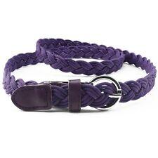 Women's Belt Causal Thin Weave Braided Waistband Belt Rope for Pants Dress L-XL