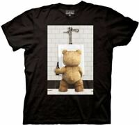 Ted The Movie Urinal Photo Mens Black T-Shirt
