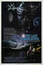 Last Starfighter Poster 01 Metal Sign A4 12x8 Aluminium