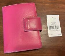 Kate Spade Debra Pocket Jane Street Pink Red Leather Organizer ($165 retail)