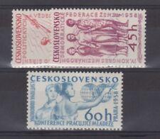 TCHECOSLOVAQUIE   n° 962/964 neuf sans charnière