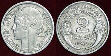 FRANCE 2 francs 1945C Rare